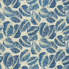 Costa Rica | 176191 in Indigo | Schumacher Fabric