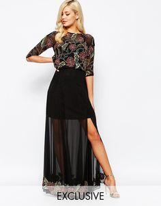 Изображение 1 из Декорированное платье макси Frock And Frill