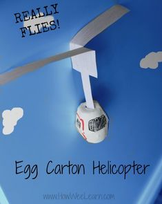 Learn about how helicopter propellers spin with this fun activity that'll entertain kids for hours!