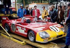itsawheelthing: semaine de sport ... foule pleaserAutodelta Alfa Romeo T33 / TT / 3 de Helmut Marko & amp; Vic Elford 1972 24 Heures du Mans