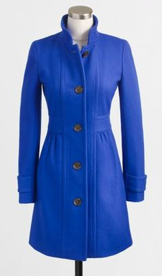 Blue beauty. | blue coat | winter blues | winter fashion | cold weather style