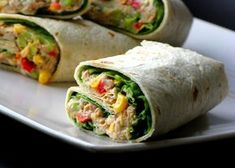 Clean Eating, Healthy Eating, Good Food, Yummy Food, Fresh Rolls, Finger Foods, Food And Drink, Appetizers, Meals