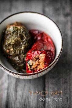 Peperoni ripieni alla melfitana - VANIGLIA - storie di cucina