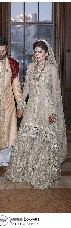 Pakistani wedding dress. uploaded by Fatima hayat.