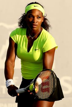Serena Williams Tennis Has four gold medals in the olympics. Very good at tennis. Mode Tennis, Sport Tennis, Play Tennis, Serena Williams Tennis, Venus And Serena Williams, Vanessa Williams, Rafael Nadal, Roger Federer, Maria Sharapova
