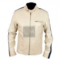 Need For Speed Racing Leather Jacket. Made from genuine sheepskin.