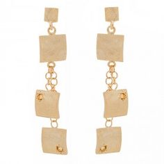 Veneto Drop Earrings with Citrine