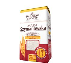 Mąka Szymanowska o obniżonej zawartości glutenu typ480. Mąka Szymanowska z obniżoną zawartością glutenu sprawdzi się, jeśli dbamy o nasze zdrowie, a po tradycyjnej mące nie czujemy się najlepiej. Idealnie nadaje  się do  przygotowywania kruchego ciasta, które na bazie mąki z obniżoną zawartością glutenu smakuje tak dobrze jak nigdy! Babcia Szymanowska uwielbia też robić z niej bagietki, które wychodzą wyjątkowo chrupkie i pyszne.