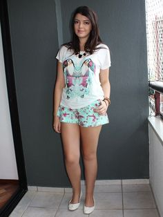 Look do dia: T-shirt de tucanos