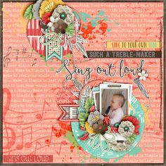 Kit: Right note - KimB {papers}{elements}{wordy bits} Template: Passport to the world Page drafts - The Nifty Pixel