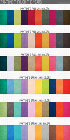 pantone through the years Rustic Color Palettes, Rustic Colors, Color Patterns, Color Schemes, Typography Layout, Beautiful Color Combinations, Girl Blog, Color Of Life, Color Pallets