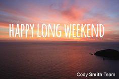 Cody Smith, Happy Long Weekend, Neon Signs, Seasons, Logos, Seasons Of The Year, Logo