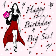 """Most Beautiful """"Happy Birthday BIG Sister"""" Wishes, Quotes and Messages #HappyBirthdayBigSister http://nationalsisterday2016.com/happy-birthday-big-sister/"""