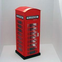 Diy milk box and hamburguer box london telephone for Planificador habitacion 3d