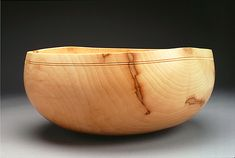 Bill Luce. wood turned celebration bowl