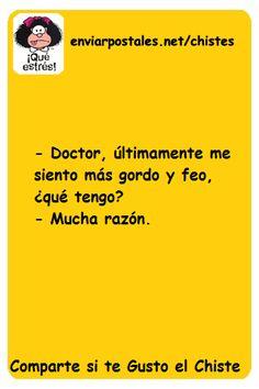 Chiste Doctor, Doctor | Chistes de Texto para Enviar o Compartir por Whatsapp