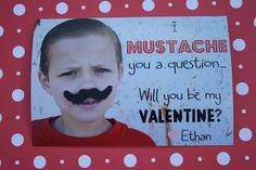 The Red Balloon: Mustache You Valentine Red Balloon, Balloons, Valentine's Cards For Kids, Be My Valentine, Mustache, Globes, Moustache, Balloon, Moustaches