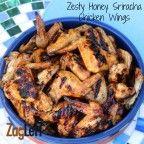 Zesty Honey Glazed Chicken Wings from Zagleft j