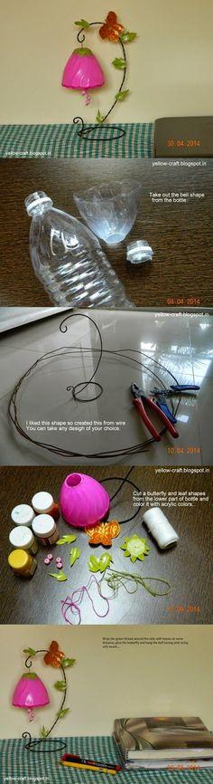 Pet Şişe Geri Dönüşüm Fikirleri 116 - Mimuu.com