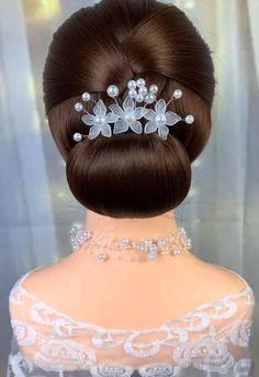 Easy Hairstyles For Long Hair, Headband Hairstyles, Up Hairstyles, Gorgeous Hairstyles, Front Hair Styles, Medium Hair Styles, Hair Style Vedio, Hair Tutorials For Medium Hair, Bridal Hair Buns