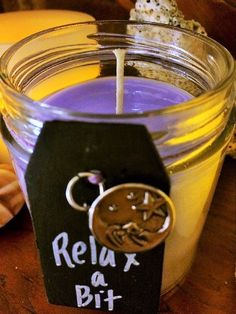 A personal favorite from my Etsy shop https://www.etsy.com/listing/238733756/soy-candle-relax-a-bit-in-purple