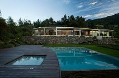 Following the Natural Curves of the Neighbouring Landscape: Lo Curro House in Chile