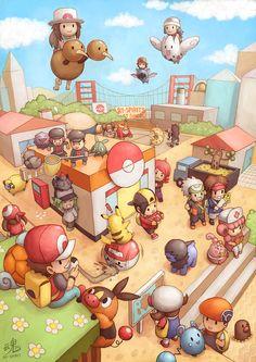 Pocket City Created by Ryspirit