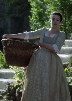 "Screenshot of Laura Donnelly as Jenny Fraser Murray in ""Outlander"" - She reminds me a bit of Marie Ange in this photo."