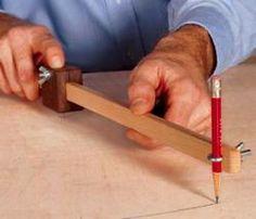 31-DP-00677 - Scrap Wood Trammel Downloadable Woodworking Plan PDF