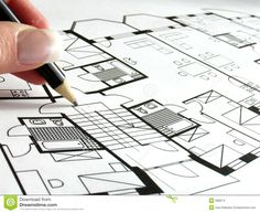 Architectural Plan Stock Images - Image: 588374