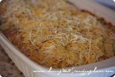 Taco Casserole Recipe | Vegetarian Taco Casserole | Frugal Weeknight Meals
