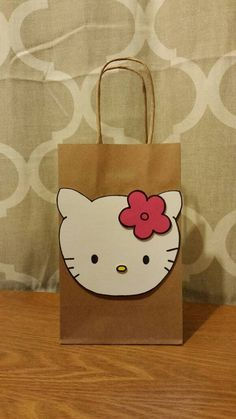 Party Bags Handmade Candy O Kitty By Purplelittle
