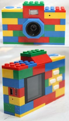 If you are looking for your child's first camera, look no further! Forget the kids, I want this!!!  In traditional LEGO fashion we bring you a fully functional 8MP digital camera that your little ones will love! Built in flash, fixed focus and digital zoom. The coolest part is, even though the camera can't be taken apart, they can add LEGO bricks to the top and bottom, and even integrate it into whatever they're building.
