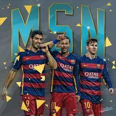 Messi - Suarez - Neymar