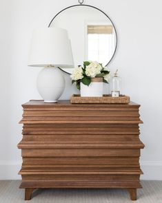 The Dolly Dresser is stacked with dimension and form for a striking silhouette. Crafted completely out of walnut, this contemporary piece adds an eclectic edge while enhancing the design of any space.