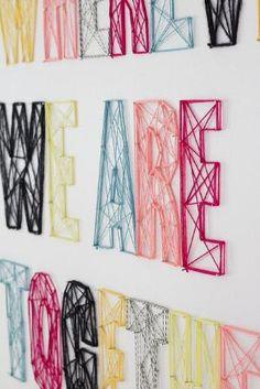 String wall art by Chelsea_Lynn714