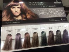 Metallics hair color. Schwarzkopf