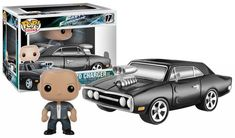 #transformer ko pop rides fast & furious: charger & dom vinyl [figure] by funko