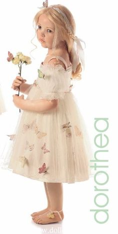 Pinning this for the dress, not the doll.   Will make for Athena some day.