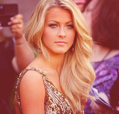 Julianne Hough is hands down the most gorgeous women ever she's my celebrity girk crush(: lol
