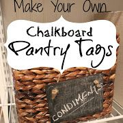 Chalkboard Tags {make your own...} - these are cute and so easy to make!