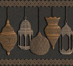 Fez by Cole & Son - Silver / Bronze / Charcoal - Border : Wallpaper Direct Cole And Son Wallpaper, Wall Wallpaper, Wallpaper Roll, Charcoal Wallpaper, Metallic Wallpaper, Cole Son, Boutique Deco, Moroccan Lanterns, Bronze