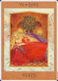 Example card from The Goddess Tarot deck. DISCOVER MORE: http://www.tarotacademy.org/the-goddess-tarot-deck/
