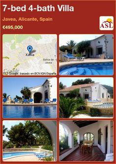7-bed 4-bath Villa in Javea, Alicante, Spain ►€495,000 #PropertyForSaleInSpain