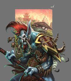 world of warcraft zandalari troll . World Of Warcraft Game, Warcraft Movie, World Of Warcraft Characters, Warcraft Art, Fantasy Characters, Warcraft Legion, Fantasy Races, Fantasy Art, Final Fantasy