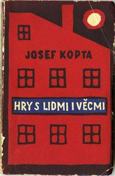 """Josef Kopta """"Hry s lidmi i věcmi"""" 1927 mecca audio: """"Knižní obálky Josefa Čapka"""""""