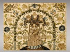 17th Century Antique English Embroidery
