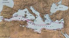 The Carthaginians influence through shipping in the Mediterranean