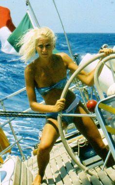 girl sailing | Caprera Vintage