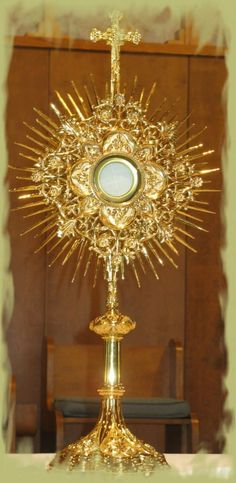 "Even if it just to stop by for a visit to say ""Hi"" - it is a good reminder for me to walk and talk like a living monstrance every day. That is what I am working on this Lent."